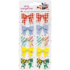Amy Tan Picnic In The Park Paper Bows Stickers 10/Pkg, Scrapbooking, Craft