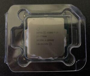 Intel Core I7-7700k CPU - Kaby Lake Lga1151