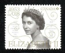 2018 CANADA 🍁👑 Queen Elizabeth II 65th Anniversary single 👩 MNH - Young Queen