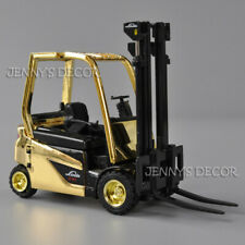 1:25 Diecast Metal Linde Battery Counterbalanced Forklift Truck Model Collection