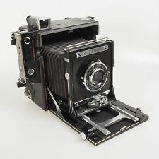 = Graflex Anniversary Speed Graphic with Kodak Ektar 127mm f4.7 Lens 4x5 Camera