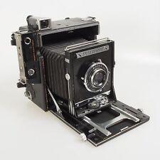 = Graflex Anniversary Speed Graphic with Kodak Ektar 127mm f4.7 Lens 4x5 Camera