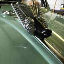 Silver Bird Mascot Bonnet Emblem for VW Beetle Bug Type 1 Oval vintage  AAC156
