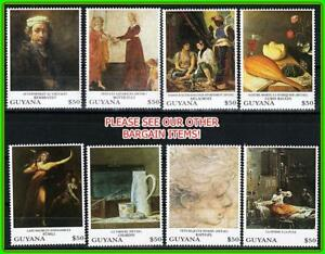 GUYANA = PAINTINGS by REMBRANDT, etc. MNH JUDAICA, music