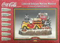 Coca Cola-Limited Edition-Motion Musical Display-Featuring Emmett Kelly-Vintage