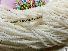 700 Antique Beads, Occupied Japan, Miriam Haskell Glass Beads 2mm, Opaque #B80