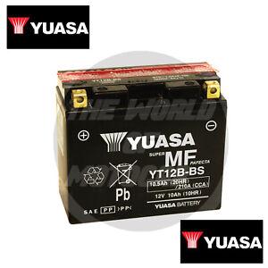 Yuasa YT12B-BS Ducati/Monster 600 2000 2001 Batteria  ATTIVATA GIA' PRONTA MOTO