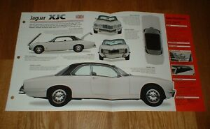★★1976 JAGUAR XJC ORIGINAL IMP BROCHURE SPECS INFO 75 76 77 XJ 4.2 C 1975-1977★★