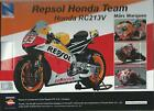 NEW RAY 1:12 MOTO DIE CAST REPSOL HONDA RC213V 2014 MARC MARQUEZ ART 57663