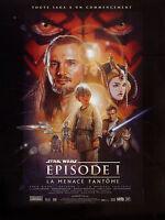 Affiche 40x60cm STAR WARS Episode 1 - La Menace Fantome 1999 George Lucas NEUVE
