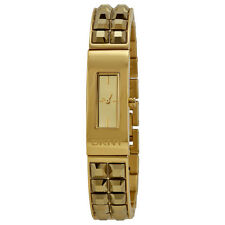 NEW DKNY BEEKMAN GOLD TONE, S/STEEL BRACELET WOMEN'S PETITE WATCH NY2228