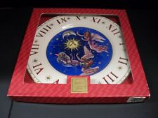 "Lenox 2000 Millennium Messengers Of Peace Clock Plate / 10 7/8"" Dia. / With Box"