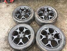 """Vauxhall Astra H 16"""" Alloy Wheels & Tyres 205 55 16 Corsa Meriva Van"""
