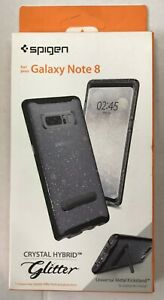 Samsung Galaxy Note 8 Case Crystal Hybrid Glitter - Mobile Phone Protection