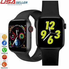 W34 Bluetooth Reloj ECG Monitor de Ritmo Cardíaco Reloj Inteligente para Android iphone Xiaomi
