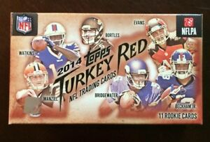 2014 Topps Turkey Red Football Factory Sealed Box Unopened (Quantity Available)