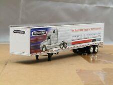 dcp tandem axle dry van trailer new no box 1/64.
