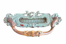 Heurtoir bronze Art nouveau 1900 dans l'esprit de Guimard