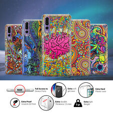 Psychedelic Trippy Mushoom Trip Phone Case Cover for Huawei