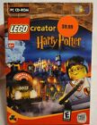New Sealed Lego Harry Potter Creator Pc Cd-rom Soft Ware Game 2001 Box Computer