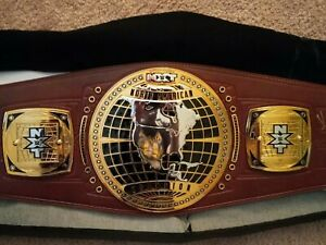 wwe nxt north american Championship autographed signed Gargano Cole Lee Strong