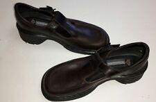 Dr Marten's 9265 Brown Ladies Mary Janes T-Bar Shoes Sz 6                    D80