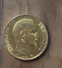 Coin, France, Napoleon III, 20 Francs, 1859, Gold