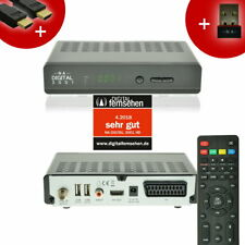 YouTube WIFI Digital Sat Receiver 3001 SCART USB HDMI FullHD 12v Mediaplayer
