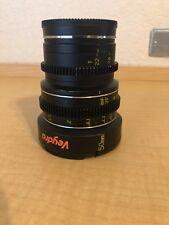 Veydra Mini Prime 50mm T2.2 Cinema Lens E Mount Imperial Markings