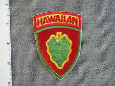 1940's U.S. Army issue Hawaiian Division patch that was used in B. Stein's Book