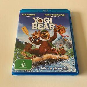 Yogi Bear Dan Aykroyd Justin Timberlake Blu-ray