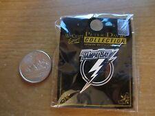 "Tampa Bay Lightning  ""Flash""  Logo NHL Hockey Pin - NIP - WinCraft Peter David"