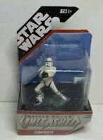 Star Wars Battle Packs Unleashed Stormtrooper Figure Hasbro 2007