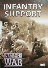 WEAPONS OF WAR - Infantry Support DVD + BOOK WORLD WAR TWO WWII BRAND NEW R0