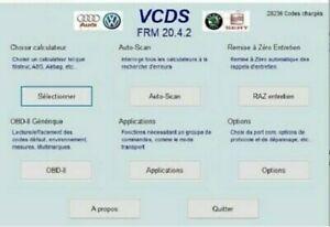 Câble vcds VAG-COM V2 20.4.2 Fr En