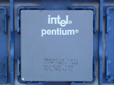 INTEL PENTIUM 120 Mhz SOCKET 7 CPU@TESTED@FULL WORKING ORDER@SY033@GOLD RECOVERY