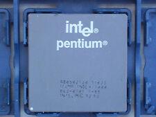 INTEL PENTIUM 120 MHz Socket 7 Cpu @ TESTED@FULL @ SY033@GOLD recuperación de pedido en funcionamiento