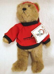 NWT BOYDS BEARS Dale Earnhardt Sr. #8 Brown PLUSH TEDDY BEAR Red Cap #919427