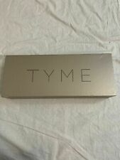 TYME Iron Pro 2-in-1 Hair Curler and Straightener Gold New
