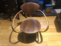 NORMAN CHERNER PRETZEL CHAIR