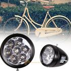 Vintage Retro Bicycle Bike 7 LED Headlight Cycling Front Light Lamp with Bracket