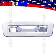 For Chevy TRAVERSE 2009 2010 2011 Chrome Tailgate Handle Cover WITH Camera Hole