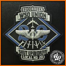 20TH BOMB SQUADRON WSO UNION MORALE PATCH B-52H STRATOFORTRESS BARKSDALE AFB LA