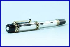 Limited Edition MONTBLANC Fountain Pen KARL THE GREAT PATRON OF ART 925 Silver