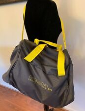SPORTBAG  Kipsta Gray & Yellow 40L. For Sport Gear Multiple Compartment