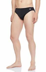 "Speedo men's 5cm Endurance swimwear briefs, black, 32"", 34"", 36"" & 40"""