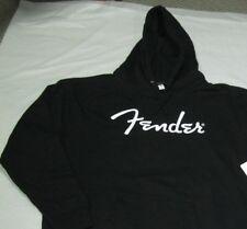 fender heavy black hoodie logo medium size hoodie black hoodie medium