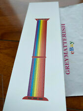 SEALED 100% Genuine 2019 PRIDE Edition 42/44mm Apple Sport Loop Watch band MV9TA