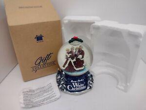 Vintage Avon Irving Berlin's White Christmas Musical Snow Globe Bing Crosby 2000