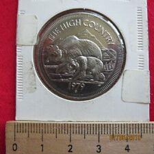 Médaille - Jasper Canada Souvenir Dollar - The Haut Colintry 1979